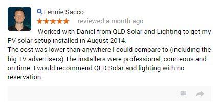 Queensland solar and lighting complaints