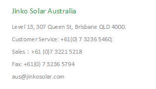 contact jinko solar australia