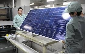 Solar panels of China
