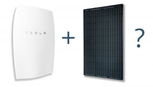 Tesla battery and solar system upgrade